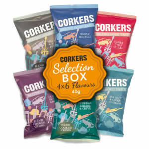 Corkers Crisps Selection Box